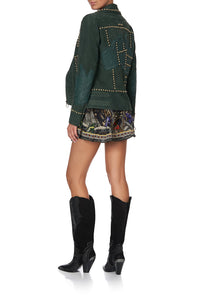 OUTBACK KNEE BOOT SOLID BLACK