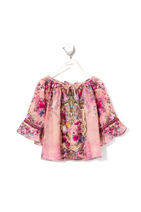 KIDS' RAGLAN BLOUSE LA BELLE
