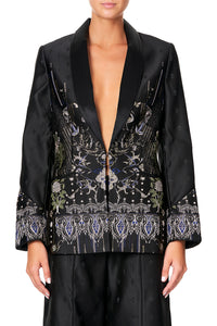 CAMILLA JACKET WITH SLEEVE CUFF DETAIL REBELLE REBELLE