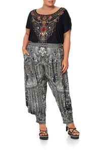JERSEY DRAPE PANT WITH POCKET ONE TRIBE - 3XL