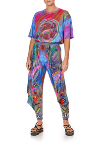 JERSEY DRAPE PANT WITH POCKET PSYCHEDELICA