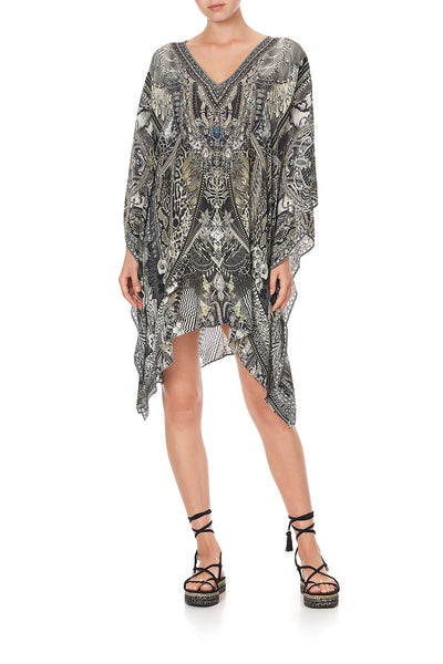 KAFTAN WITH BUTTON UP SLEEVES ONE TRIBE