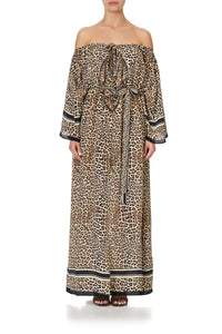 KEYHOLE NECK LONG KAFTAN SEX KITTEN