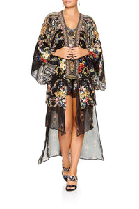 KIMONO WITH LONG UNDERLAY FRIEND IN FLORA