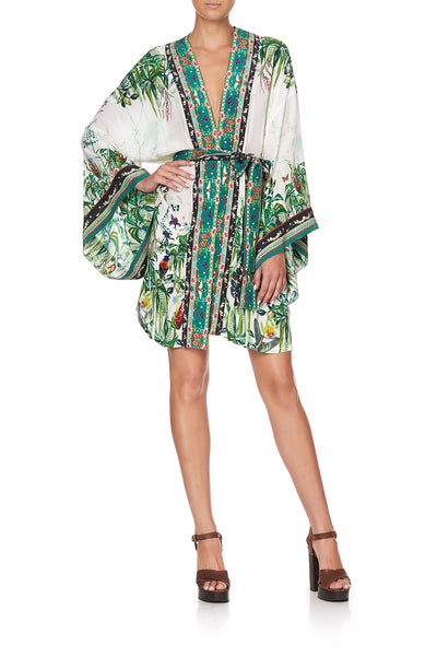 KIMONO WITH TIE BELT DAINTREE DARLING