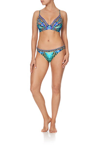 LACE BACK TRI BRA REEF WARRIOR