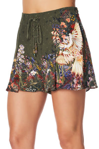LACE UP FRONT SHORTS WATCHFUL WINGS