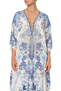 LACE UP KAFTAN TALKING ABOUT A REVOLUTION