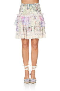 LAYERED FRILL SKIRT MERMAID MILLA