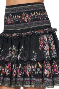 LAYERED FRILL SKIRT RESTLESS NIGHTS