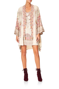 CAMILLA LAYERING KIMONO WITH NECK BANDS GOLDEN AGE