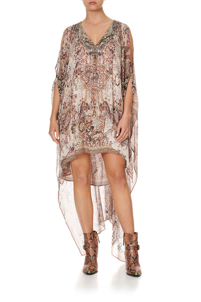LONG SHEER OVERLAY DRESS TALES OF TALITHA