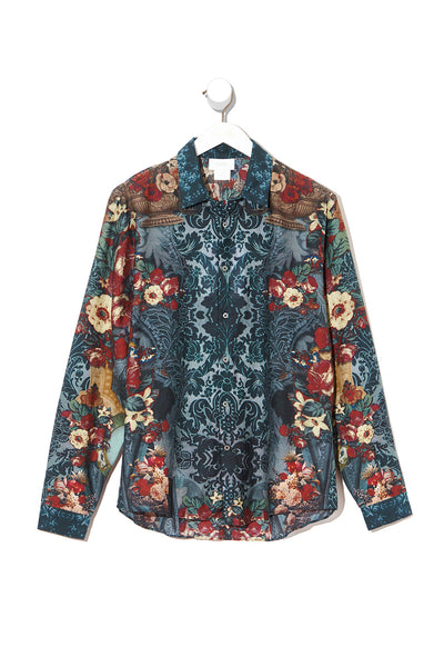 LONG SLEEVE COLLARED SHIRT HOTEL BOHEME