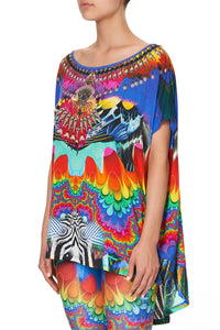 LOOSE FIT TEE RAINBOW GATHERING