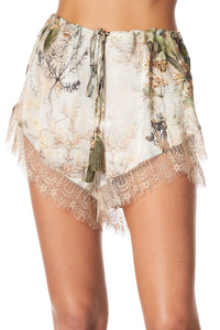 LOOSE LACE HEM SHORT LETTERS FROM HILDA