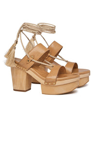 MELLOW MUSE FABRIC TIE PLATFORM
