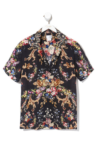 CAMILLA MENS SHORT SLEEVE SHIRT FRIEND IN FLORA