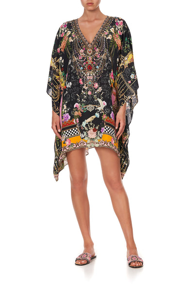 MIDI KAFTAN WITH BUTTON UP SLEEVES MONTAGUES CAPULET