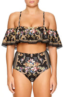 OFF SHOULDER BRA WITH TRIM FRIEND IN FLORA