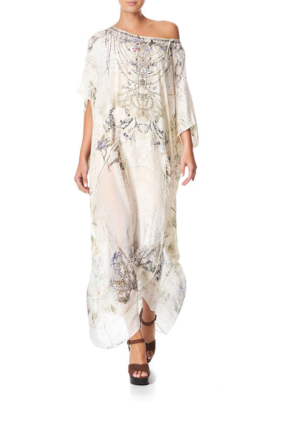 PANELLED ROUND NECK KAFTAN MEMORIES OF MOREE