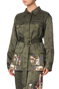 PATCH POCKET JACKET WATCHFUL WINGS