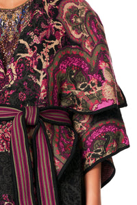 CAMILLA PLACEMENT JACQUARD COAT DAUGHTER'S DESTINY