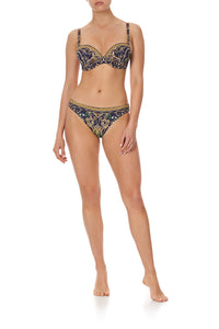 PLUNGE BRA WITH TRIM SEVEN DAY WEEKEND