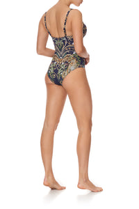 PLUNGE CUP ONE PIECE WITH TRIM SEVEN DAY WEEKEND