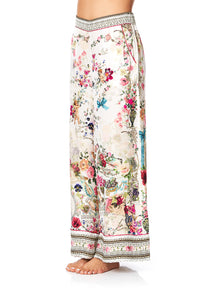 SLEEPWEAR WIDE LEG PJ PANTS JARDIN POSTCARDS