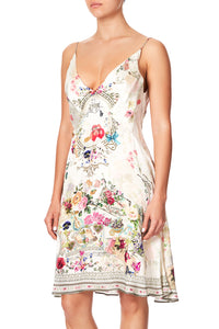 SLEEPWEAR SLIP DRESS JARDIN POSTCARDS