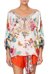 RAGLAN SLEEVE BLOUSE WITH CUFF HOMEWARD FOUND
