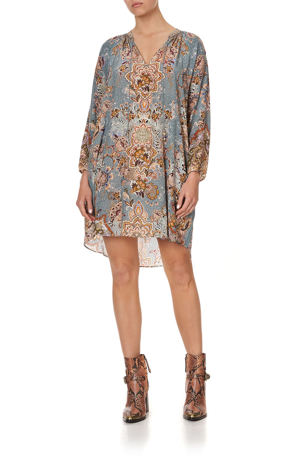 RAGLAN SLEEVE TUNIC DRESS LE PALAIS DU ZAHIR