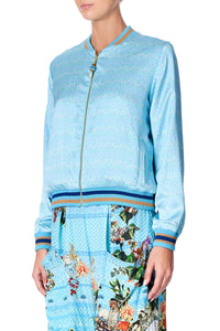 REVERSIBLE BOMBER JACKET GIRL FROM ST TROPEZ