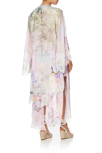 ROBE WITH DOUBLE LAYERED HEM MERMAID MILLA
