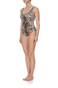 RUCHED ONE PIECE COSMIC CONFLICT