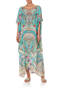 ROUND NECK KAFTAN A SONNET FOR SATINE