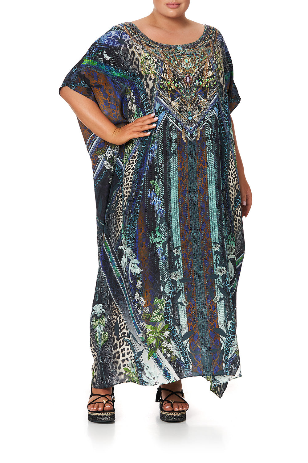 ROUND NECK KAFTAN KOMODO QUEEN