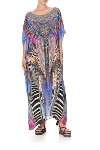 ROUND NECK KAFTAN LOVE ON THE WING