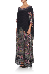 ROUND NECK KAFTAN RESTLESS NIGHTS