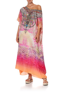 ROUND NECK KAFTAN SERPENTINE DREAMS