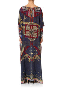 CAMILLA ROUND NECK KAFTAN THIS CHARMING WOMAN