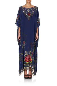 ROUND NECK KAFTAN WINGS IN ARMS