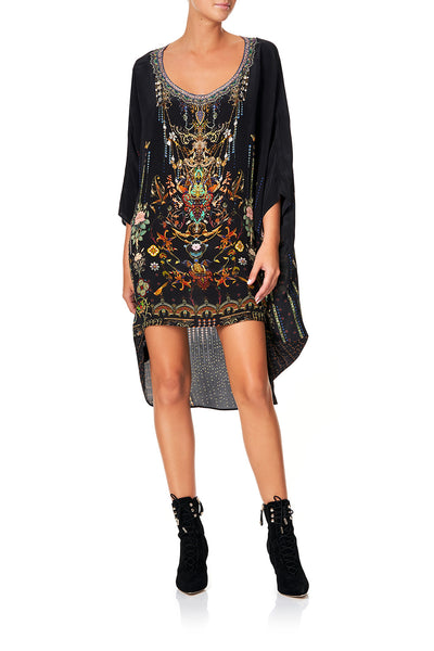 CAMILLA SCOOP BACK HEM DRESS REBELLE REBELLE