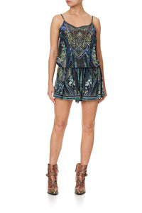 SHOESTRING STRAP PLAYSUIT KOMODO QUEEN
