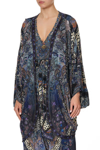 SHORT GATHERED LAYER WITH DRAPED SHOULDER FESTIVAL EXPRESS
