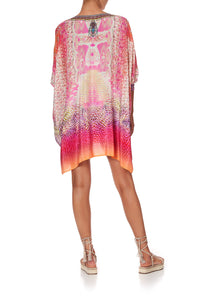 SHORT KAFTAN WITH CUFF SERPENTINE DREAMS