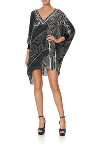 SHORT KAFTAN WITH CUFF TALE OF THE FIRE BIRD