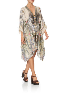SHORT KAFTAN WITH HARDWARE FOREVER FOREVER