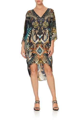 SHORT KAFTAN WITH RAGLAN SLEEVE MATERNAL INSTINCT