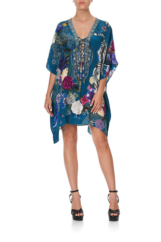 SHORT LACE UP KAFTAN LUNAR GAZING
